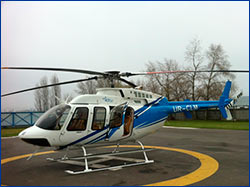 BELL HELICOPTER DELIVERS FIRST BELL 407GX IN RUSSIA