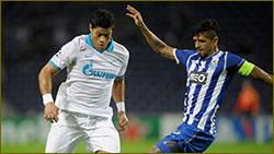 Late Kerzhakov goal gives Zenit points at Porto