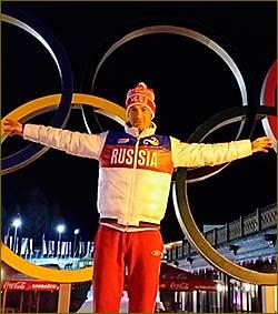 Dmitry Malyshko won gold at the Olympic Games