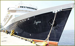 MV Azores calls at Passenger Port of Saint-Petersburg
