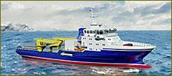 Severnaya Verf lays down third Navy combat logistics ship of 23120 series «Captain Shevchenko»