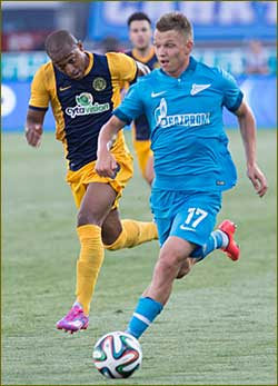 Zenit pressure tells against AEL