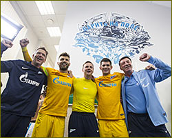 «Zenit» - the champion of Russia-2014/15