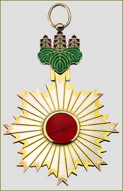 Irina Isayevna Bass is awarded the order the Rising sun