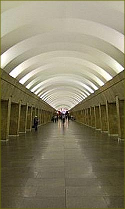 The Vyborgskaya metro station was opened for passengers