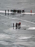fishers on the ice-floe