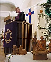 Christmas masses have been held in Catholic Temples of St. Petersburg.