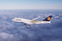 Lufthansa aeroplanes won't fly over Russia?