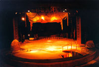 the stage of the Petersburg children's theatre TUZ where the festival takes place