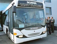 Scania Plant in St. Petersburg Opened